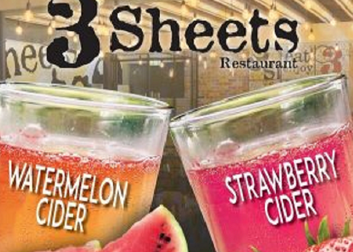 Fruit Ciders on Tap