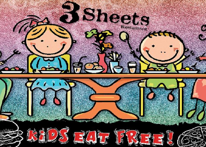 KIDS EAT FREE !!